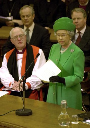 The Queen Addresses Parliament