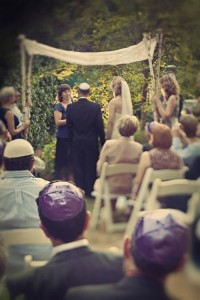 Outdoor huppah