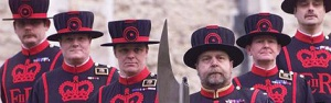 Buckingham Palace Beefeaters