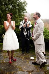 Jewish Autumn Wedding Ceremony