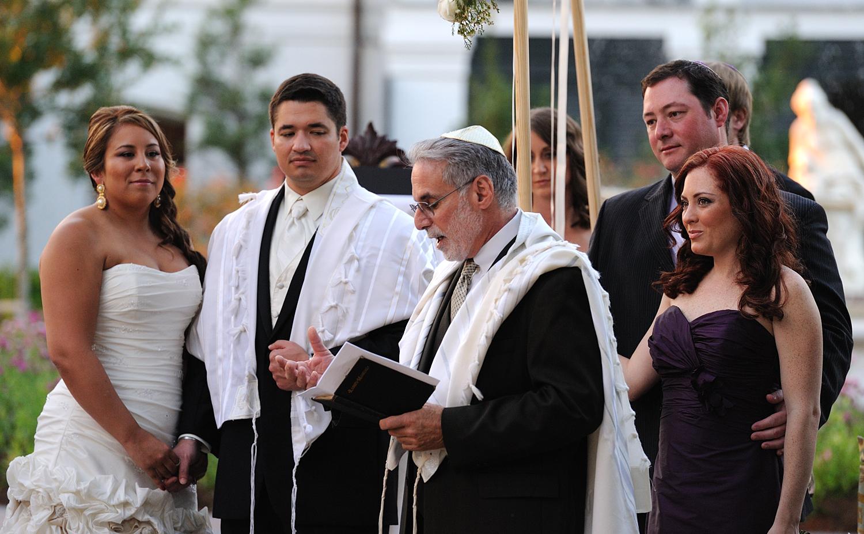 Jewish Wedding Ceremony   Backyard Huppah   Page 2