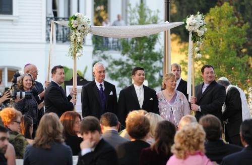 Mississippi Wedding Huppah