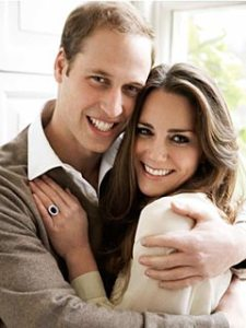 Prince William and Catherine Middleton Engagement Portrait