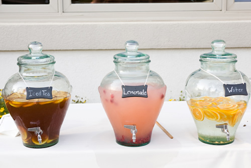 economical wedding beverages