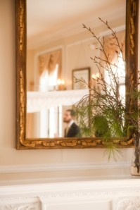 Maryland wedding venue mirror