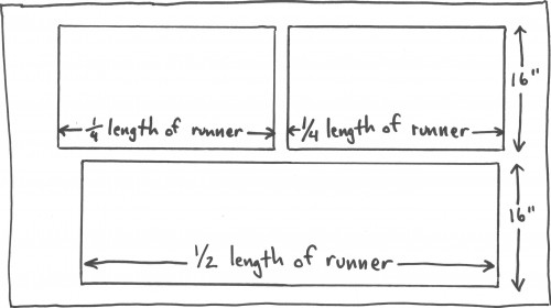 DIY Table Runner Pattern