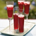 blueorchidblog champagne pomegranate cocktails