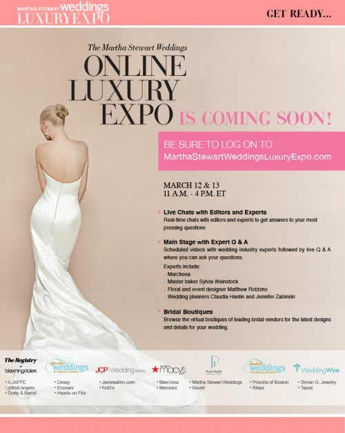 Where To Register For Wedding.Register For Martha Stewart Weddings Online Luxury Expo