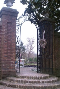 Oxon Hill Manor garden gate