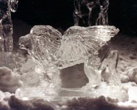 Sphinx ice carving bill bywater