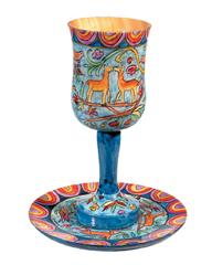 Yair Emanuel kiddush cup