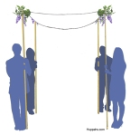 chuppah-with-bouquets