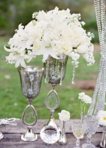 white-rose-centerpieces