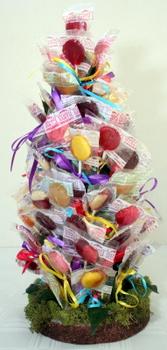 How To Make A Candy Centerpiece Backyard Huppah