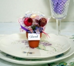 Lollipop Place Card Holder