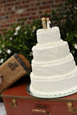 Rustic Louisiana Wedding Cake