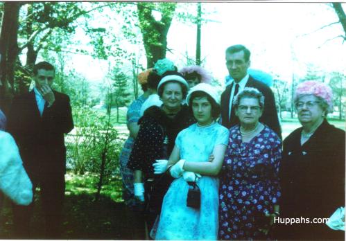 1950s vintage wedding style photo