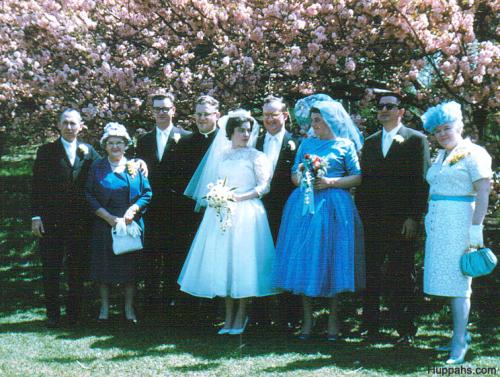 1950s vintage wedding