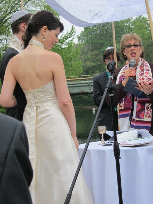 wedding at New York Prospect Park May 2012