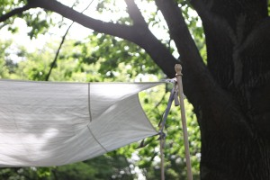 How to decorate a wedding chuppah with ribbons and tassels