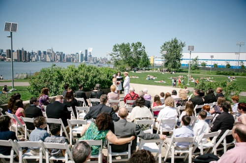Wedding East River State Park Williamsburg Brooklyn