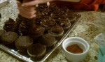 Chocolate chili cupcakes