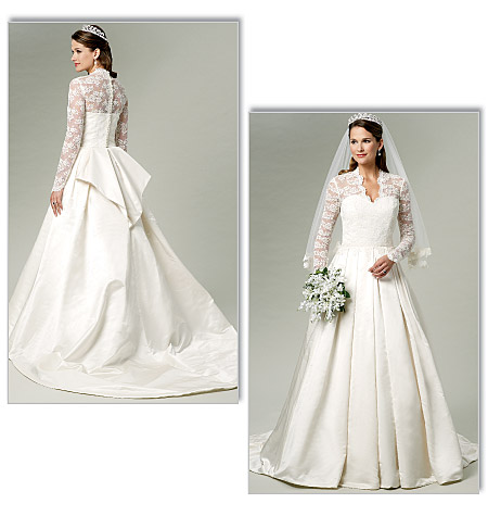 Rentdesigner Dress on Diy Wedding Dress In Kate Middleton Style From Butterick Patterns