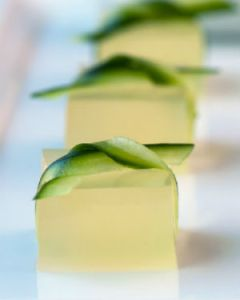 Margarita shots. Source: Martha Stewart Weddings on The Huffington Post