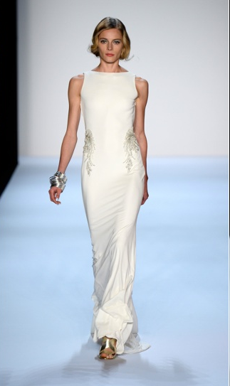 Badgley Mischka New York Fashion Week 2013 Spring 2014