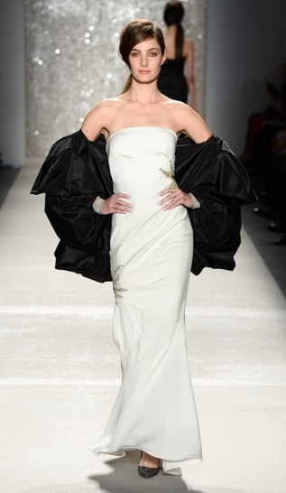 Pamella Roland Wedding Gown New York Fashion Week 2013 Spring 2014