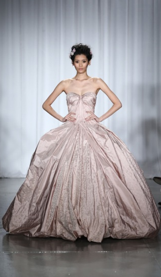 Zac Posen Wedding Gown New York Fashion Week 2013 Spring 2014