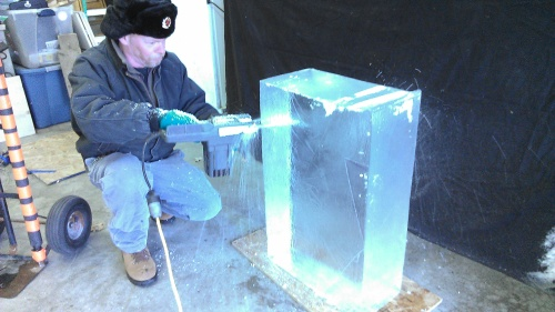 how to ice sculpture