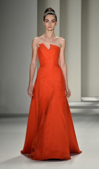 Carolina Herrera fall 2014 new york fashion week