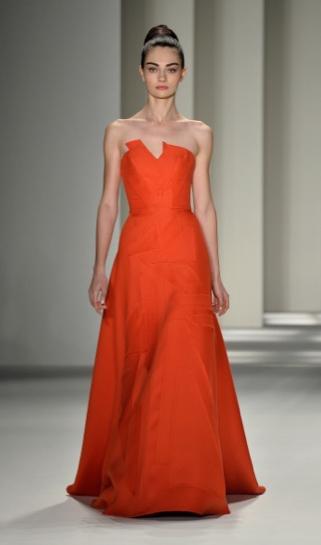 Carolina Herrera fall 2014 new york fashion week