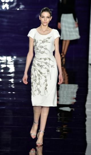 Reem  Acra 2014 fall new york fashion week