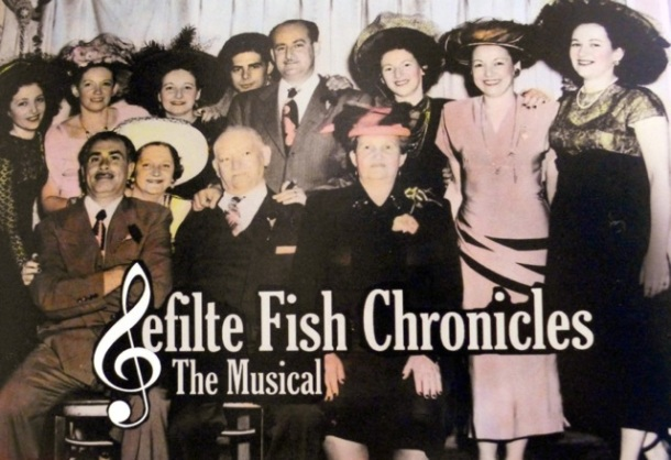 Dubroff family photo for Gefilte Fish Chronicles Musical