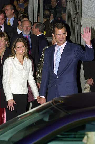 Felipe and Letizia