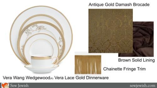 Vera Want wedding dishware
