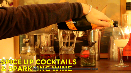 spice up cocktails and sparkling wine