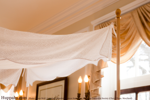 Lace Wedding Huppah Canopy with Braid