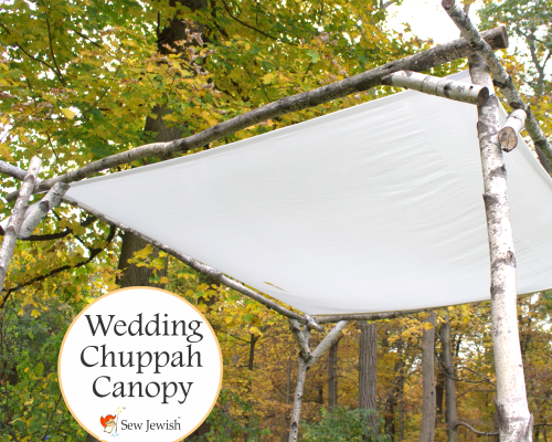 silk wedding huppah canopy
